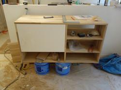 réalisation meuble SDB sur-mesure