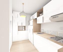 3D projet cuisine