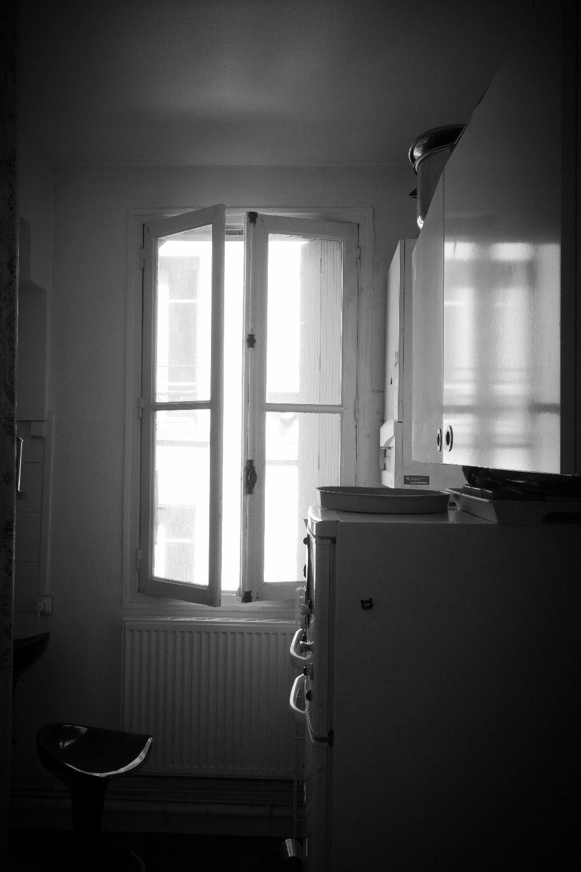 Avant : cuisine fermée