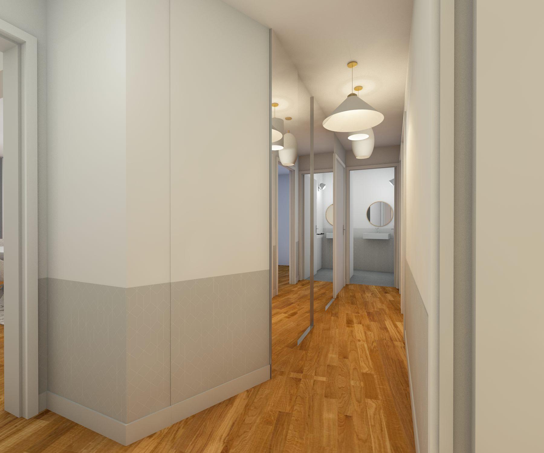 architecture d'intérieure - couloir