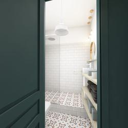 architectureintérieure:salle de bain