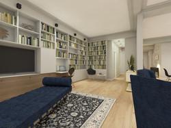 Bibliothèque, bureau et meuble TV