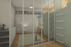 chambre enfant avec séparation