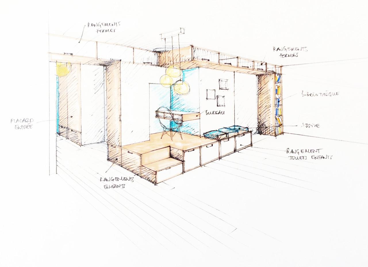 architecture intérieure : séjour