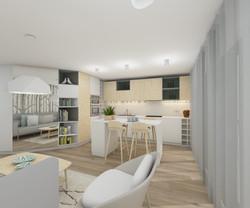 architecture d'intérieur-cuisine