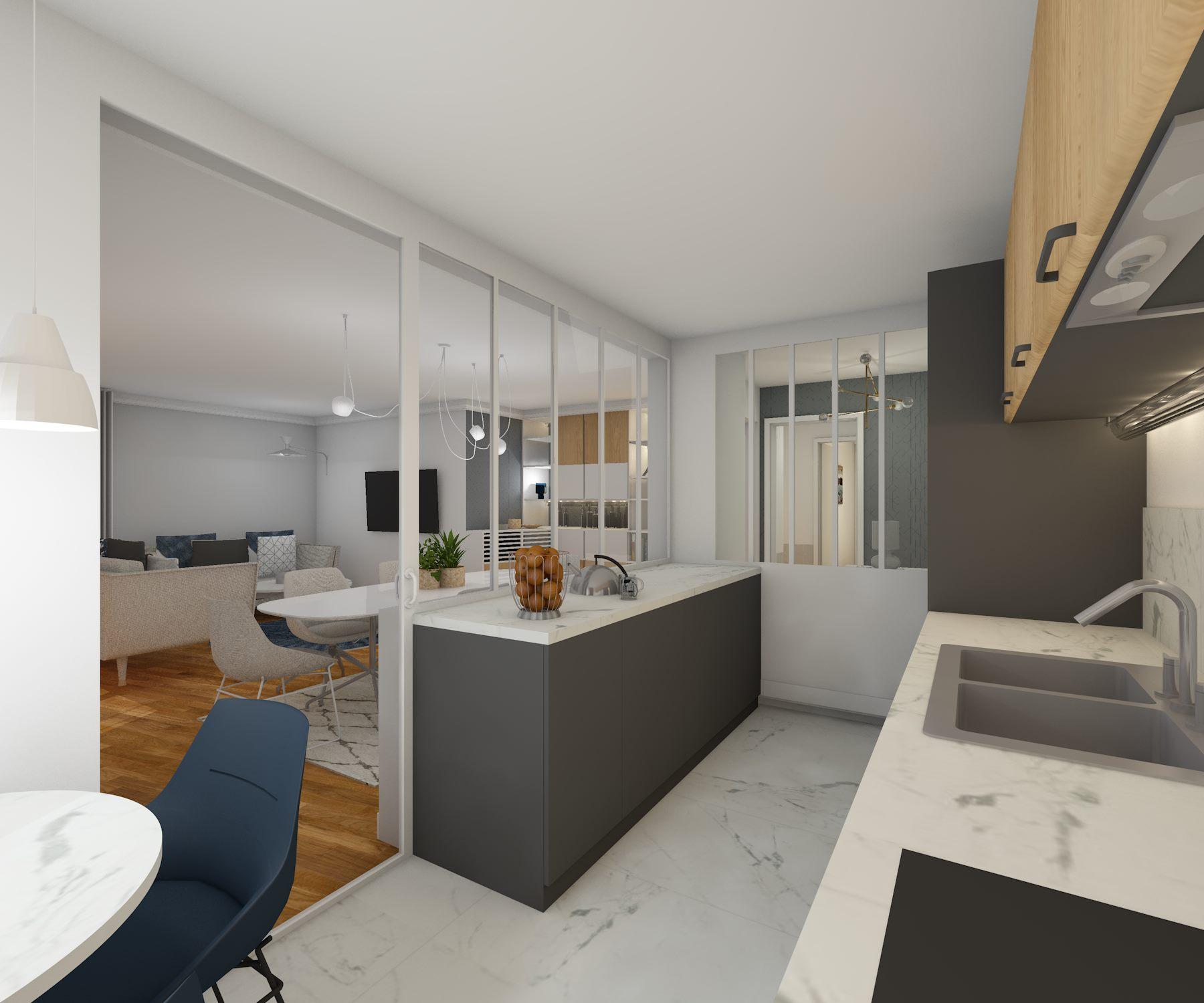architecture d'intérieure - cuisine