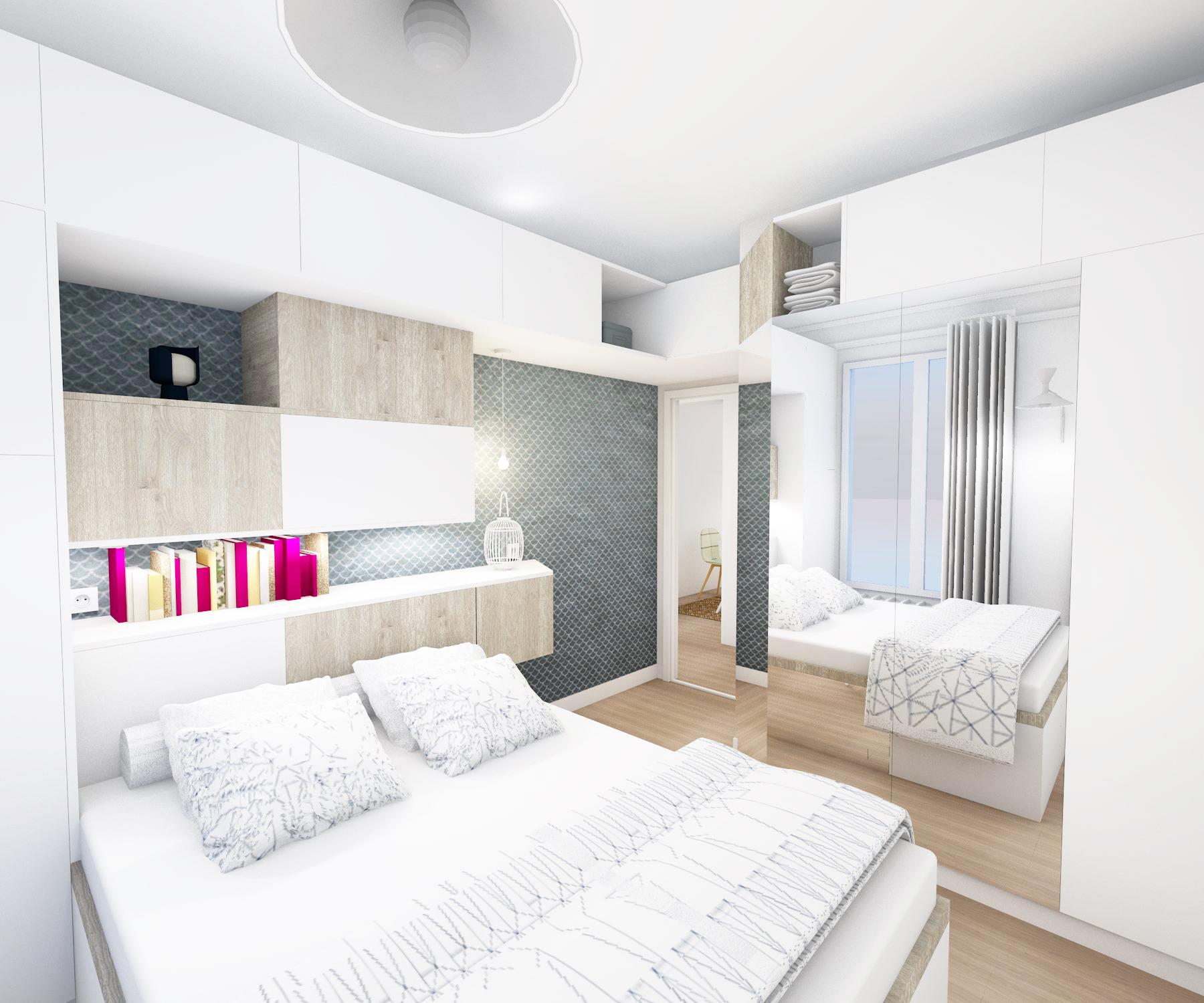 architecture intérieure : chambre