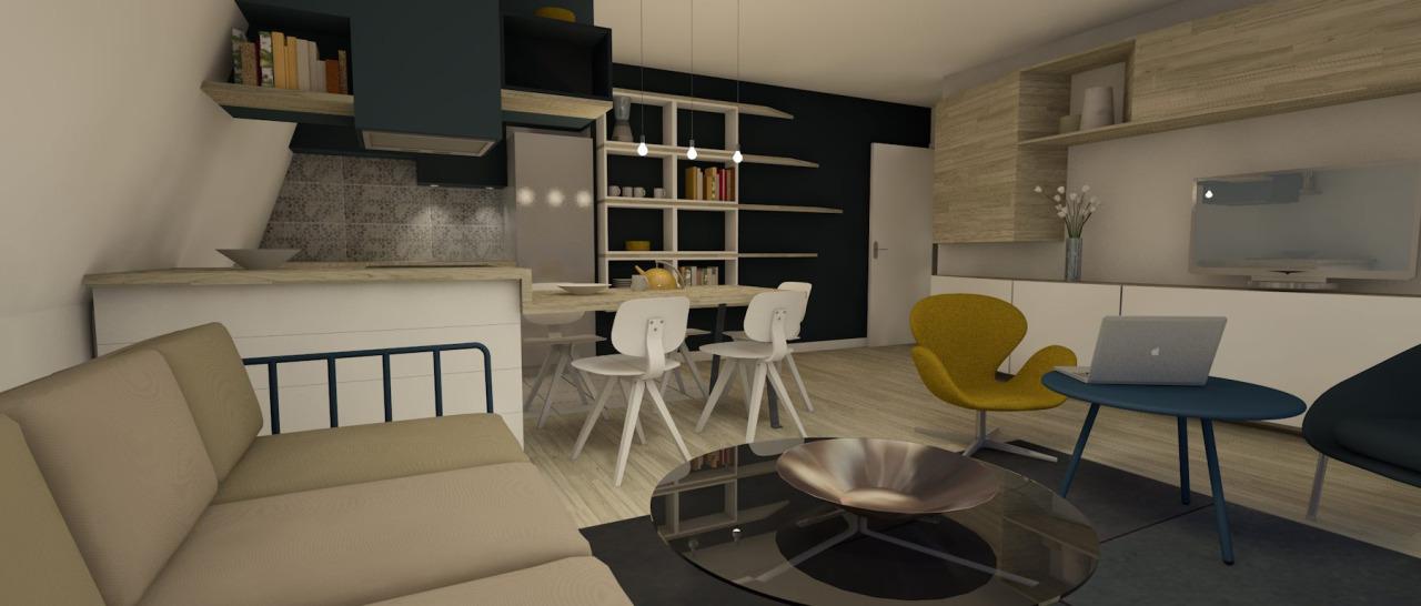 architecture intérieure : cuisine