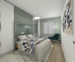 architecture d'intérieur-chambre par