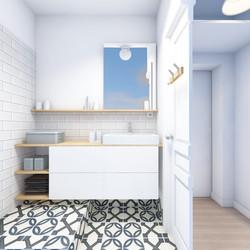 3D projet salle de bain
