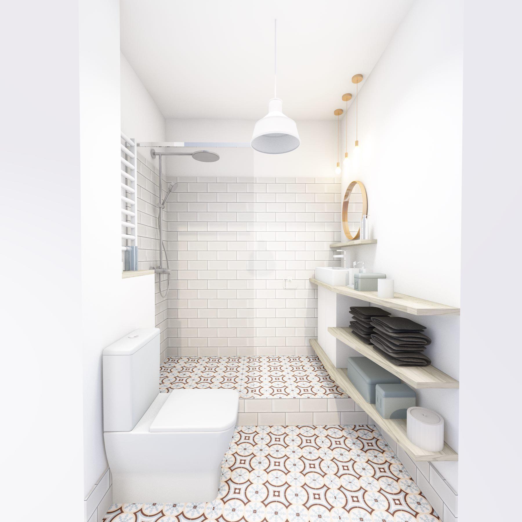 3D petite salle de bain