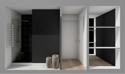 grand studio avec espace nuit