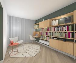 bibliothèque / bureau