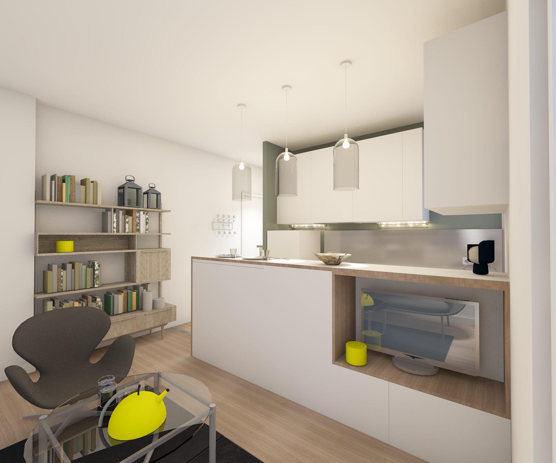 rchitecture intérieure : cuisine
