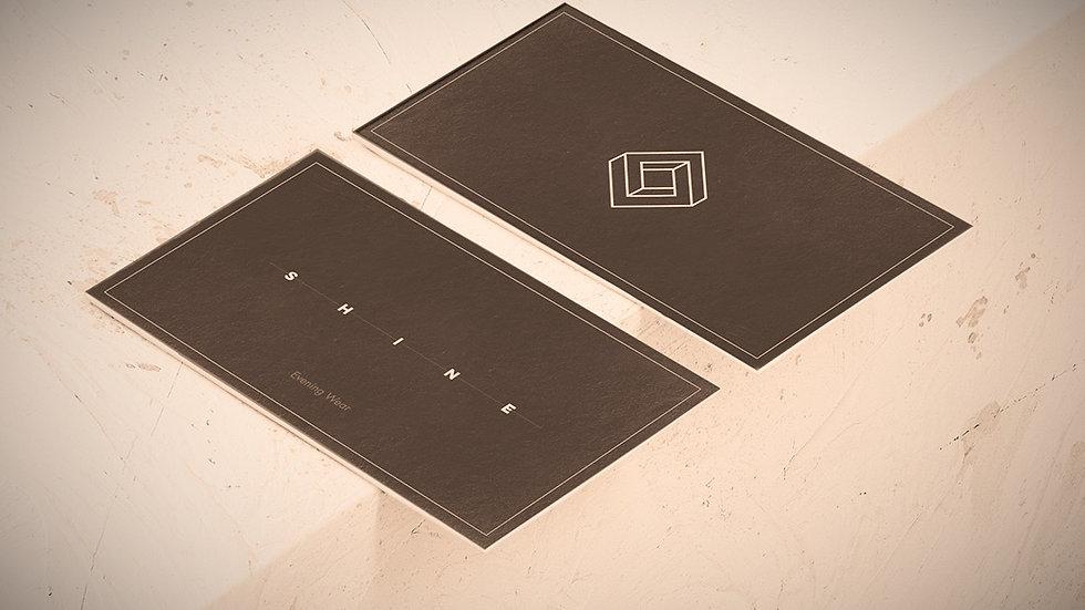 350gsm Artboard - Branding Cards - Matt Laminated