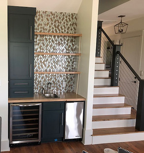 Custom Wet Bar and Cabinets