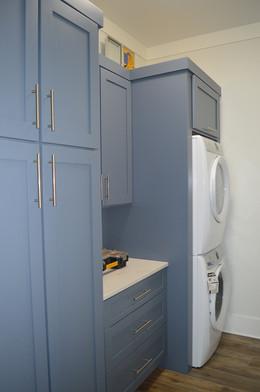 Custom Cabinets Laundry Room