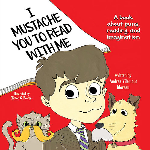 I Mustache You to Read with Me