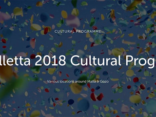 The Valletta 2018 Cultural Programme