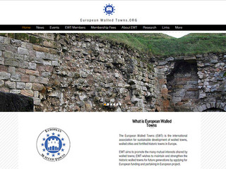 The European Walled Towns Website is an Effective Communication Tool to Share our Common Interests