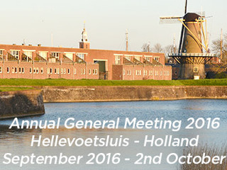 Hellevoetsluis Symposium and Annual General Meeting- 29th September - 2nd October 2016