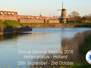 Proposed Agenda for Symposium and Annual General Meeting 2016 - Updated
