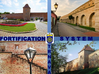 Fortification system in the town of Trnava