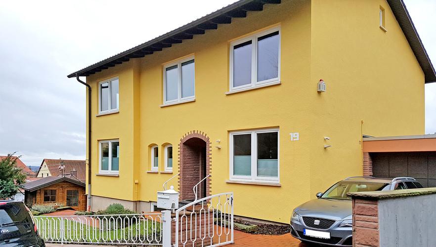 Fassadenrenovierung mit Silikatfarbe