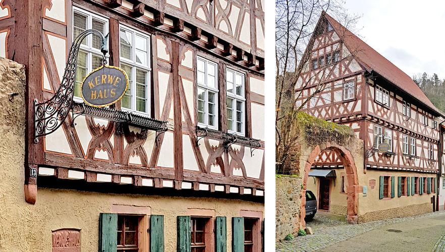 Denkmalgererchte Sanierung Kerwehaus Weinheim