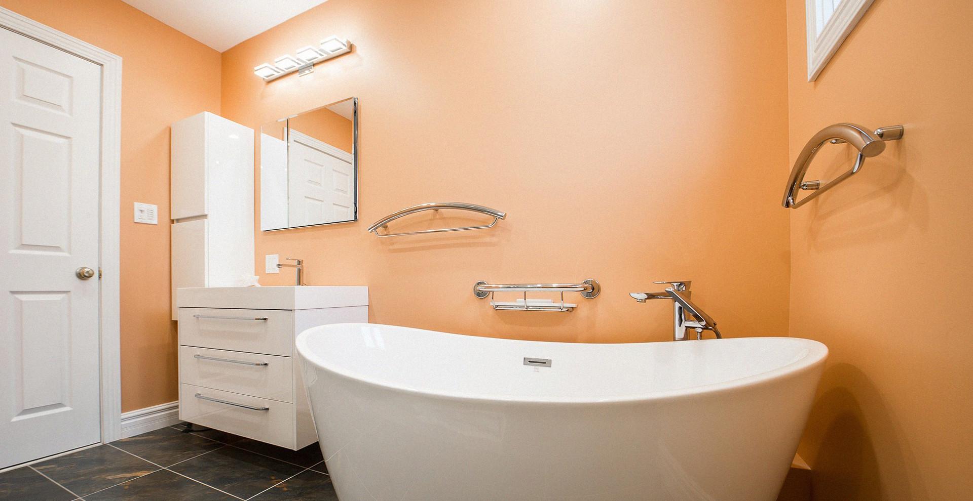 Farbgestaltung Badezimmer