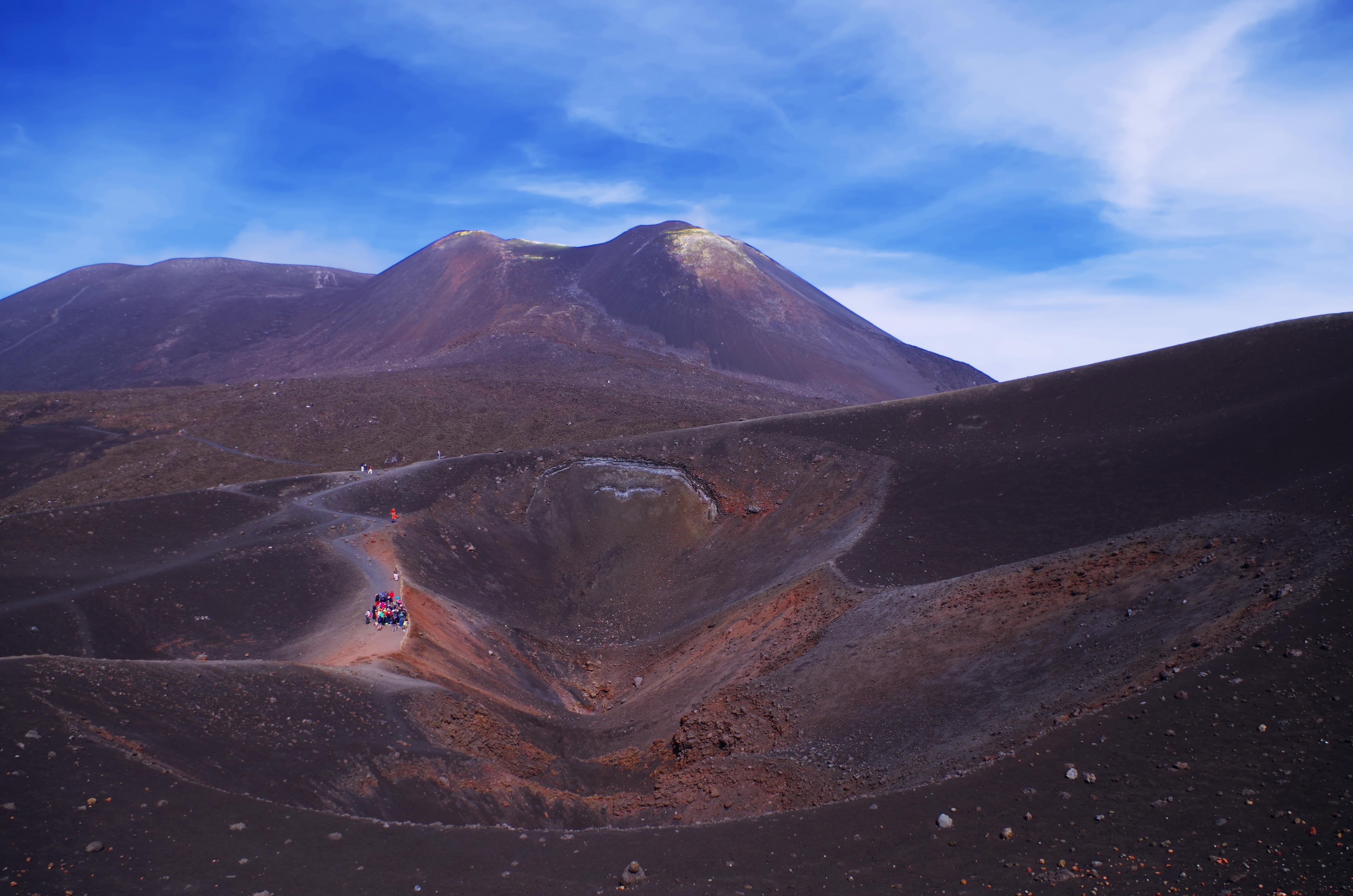 вулкан Этна, Сицилия, Etna, Sicilia