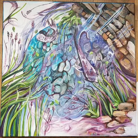 Lilypool Painting