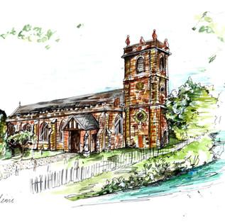 Wedding Venue Painting Gift Church.jpg