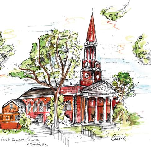 Wedding Gift Idea Drawing First Baptist Church.jpg