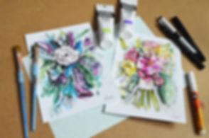 Floral & Figure Illustration Image 17.jp