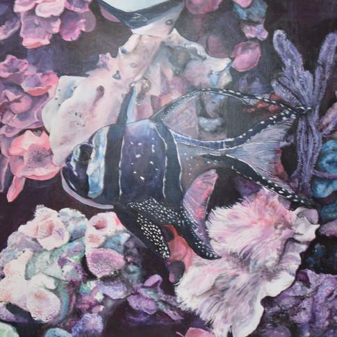 Underwater Scene Painting