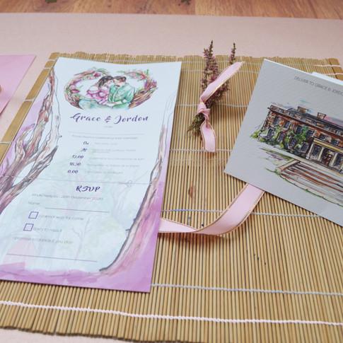 G&J Wedding  Z Fold Stationery Image 4.j