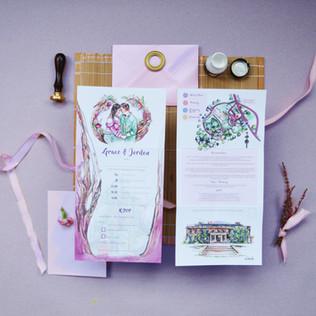 G&J Wedding  Z Fold Stationery Image Purpl1.jpg