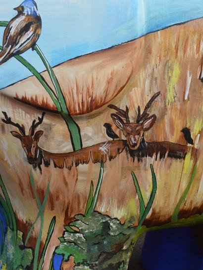 Elmer Painted Mural Sculpture Trail