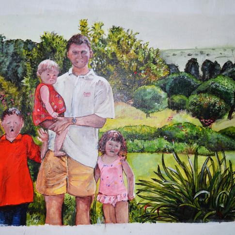 Family Portrait Painting
