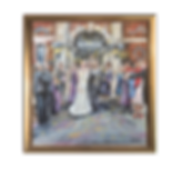 Wedding Painting on Canvas
