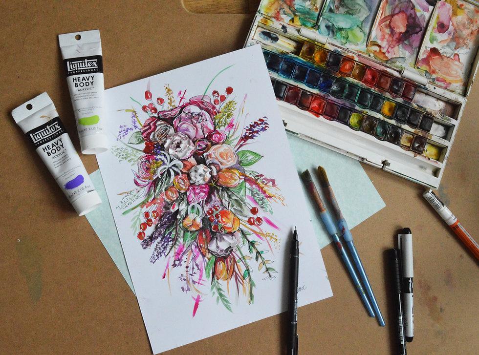 Floral & Figure Illustration Image 14.jp