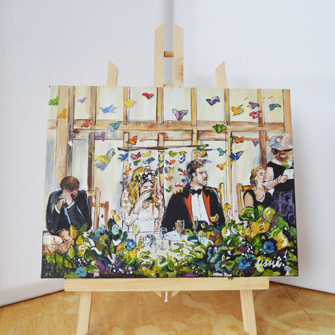 Wedding Breakfast Painting Gift