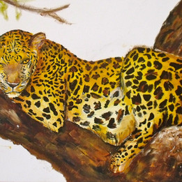 Leopard Painting Lissieart