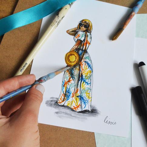 Floral & Figure Illustration Image 18.jp