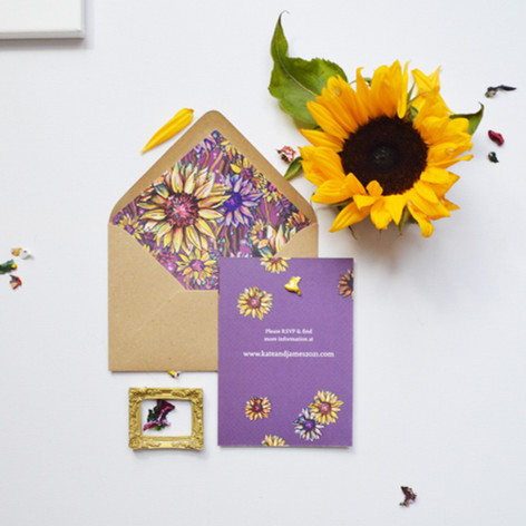 Sunflower Stationery Design Image 3.jpg