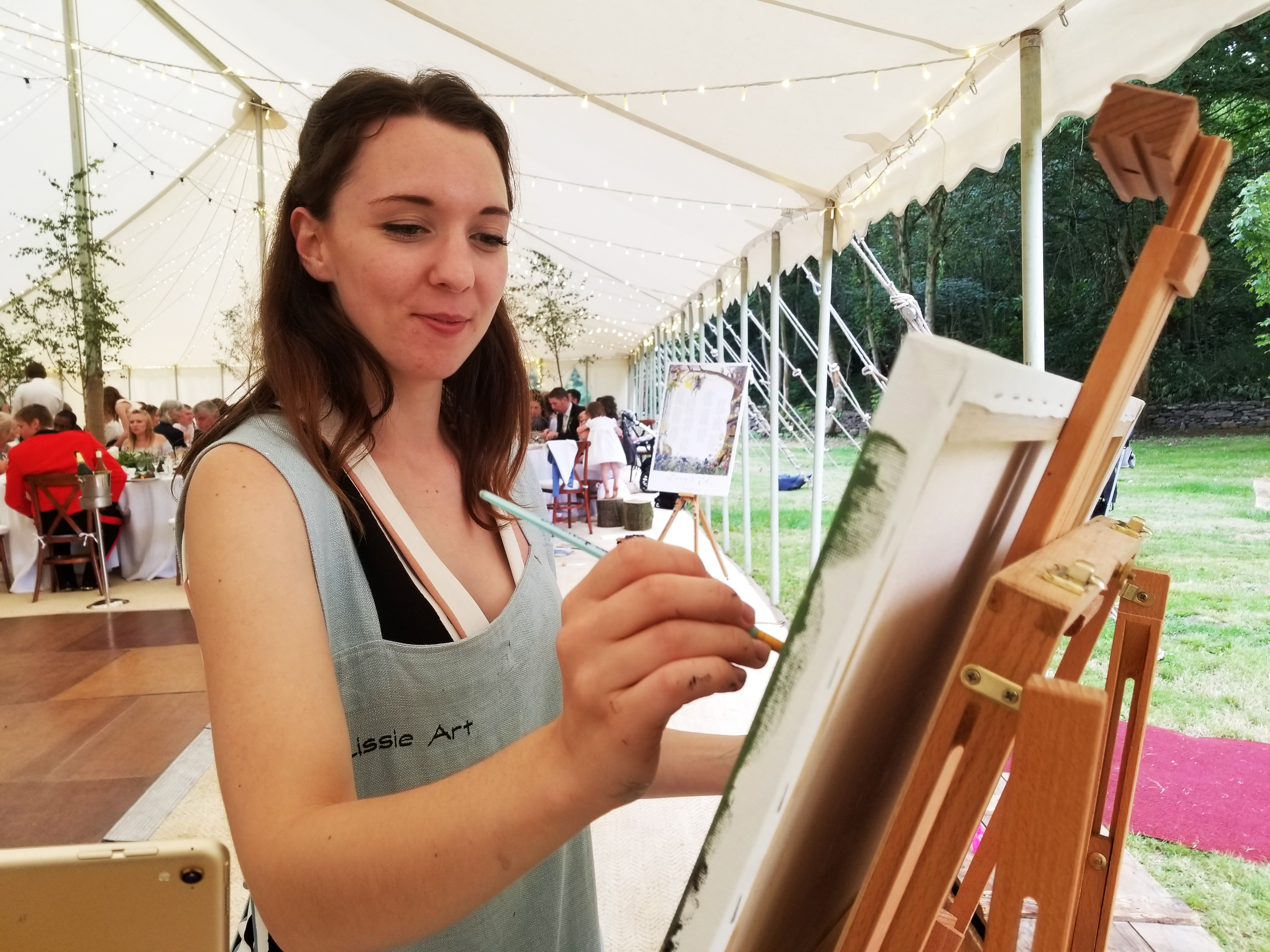Live Painting or Stationery Consultation