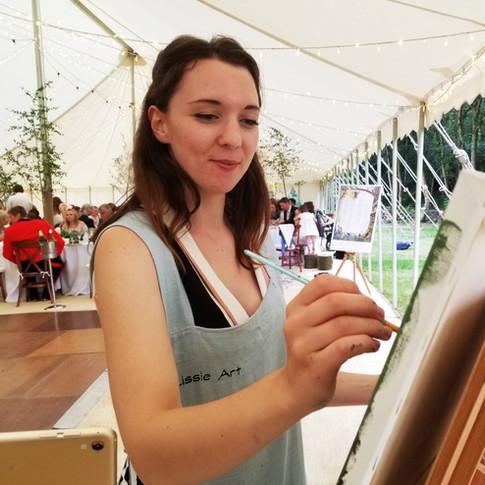 Lissieart Live Event Artist