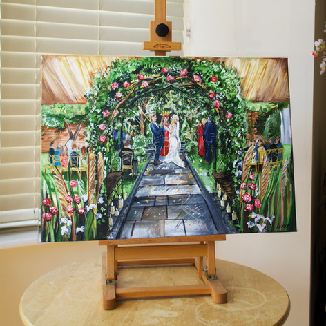 Wedding Ceremony Painting