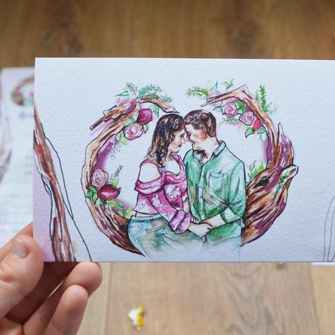 G&J Wedding  Z Fold Stationery Image 7.j